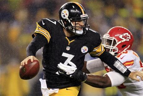 Ben Roethlisberger, Justin Houston