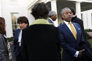 Janet Murguia, Barry Rand, Al Sharpton
