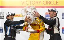 Ryan Hunter-Reay, Helio Castroneves, Will Power
