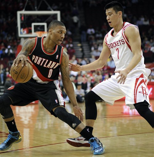 Jeremy Lin, Damian Lillard