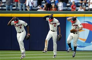 Justin Upton, B.J. Upton, Reed Johnson