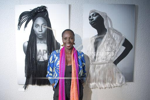 "Pk on the exhibition ""Connecting Afro Futures"