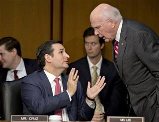 Patrick Leahy, Ted Cruz