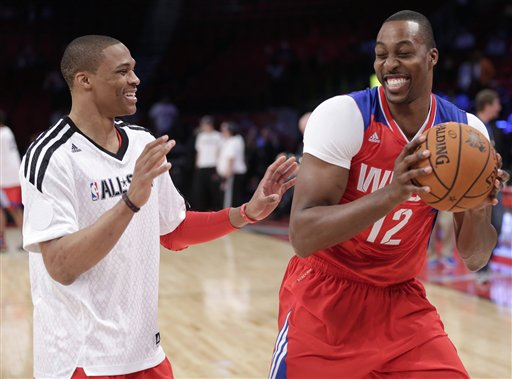 Russell Westbrook, Dwight Howard