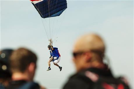 Vertical Skydiving Record