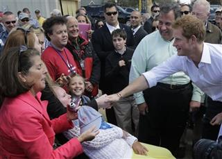 Prince Harry, Chris Christie
