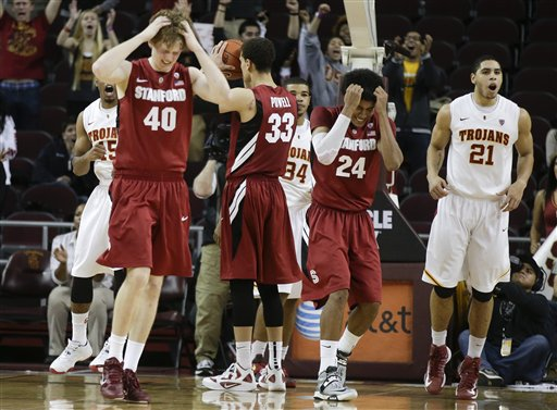 Stanford USC Basketball