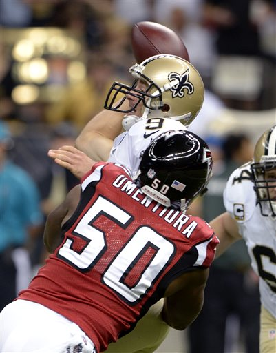 Drew Brees, Osi Umenyiora