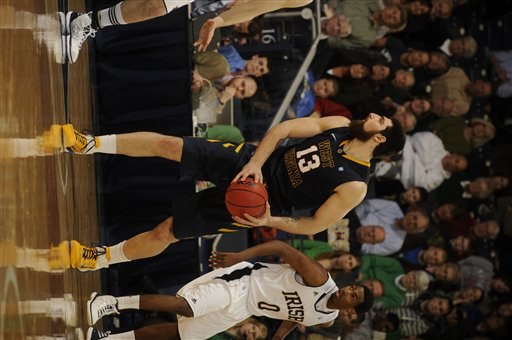 West Virginia Notre Dame Basketball