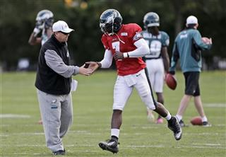 Michael Vick, Marty Mornhinweg