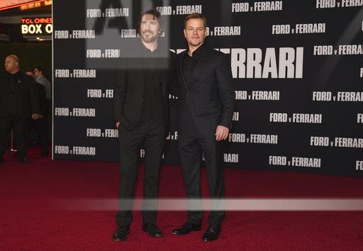 "LA Premiere of ""Ford v Ferrari"""