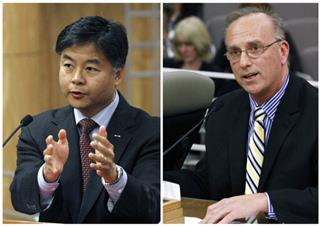 Ted Lieu, David Pickup