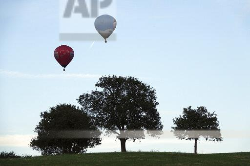 Hot air balloon meeting