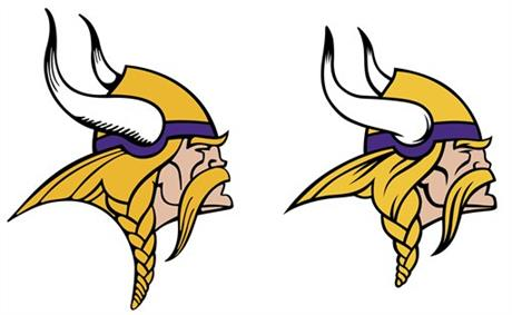 Vikings Logo Football
