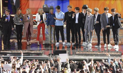 "BTS perform on ""Good Morning America"" - 5/15/19"