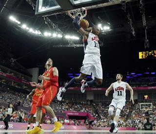 APTOPIX London Olympics Basketball Men