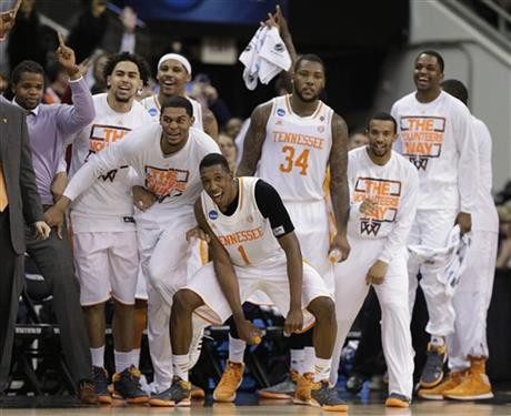 APTOPIX NCAA Mercer Tennessee Basketball