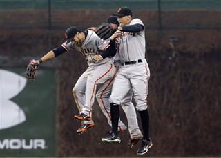 Gregor Blanco, Angel Pagan, Hunter Pence
