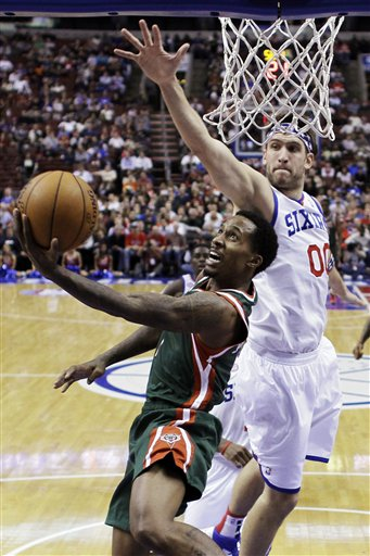 Spencer Hawes, Brandon Jennings