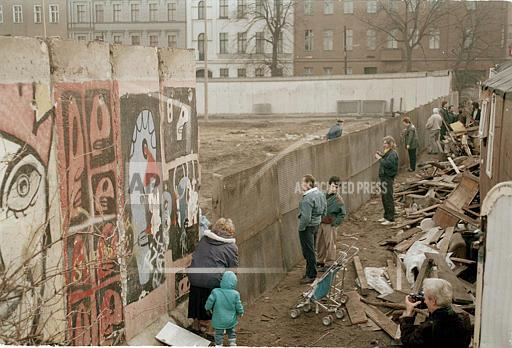 Watchf Associated Press International News   Germany APHS37917 Berlin Wall 1990