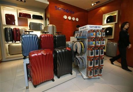 Hong Kong Samsonite Safety Scare