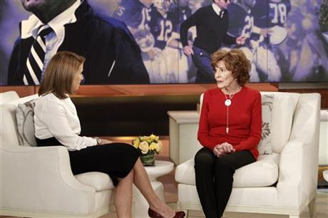 KATIE COURIC, SUE PATERNO