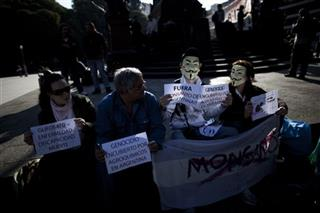 Argentina Marching Against Monsanto