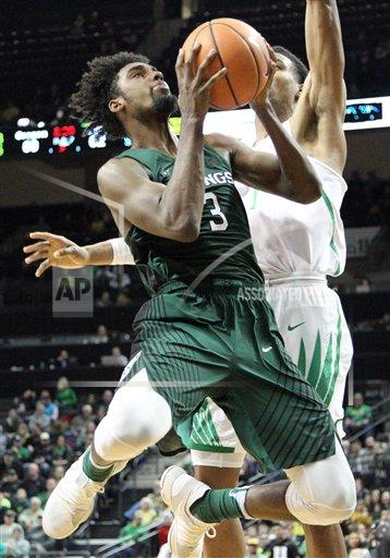 CalSports AP SPO MBB [Deontae North] OR USA CSMAP NCAA Basket all 2017: Portland State vs Oregon DEC 13