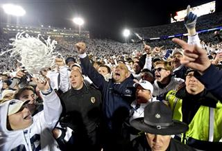APTOPIX Ohio St Penn St Football