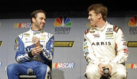 Jimmie Johnson, Carl Edwards