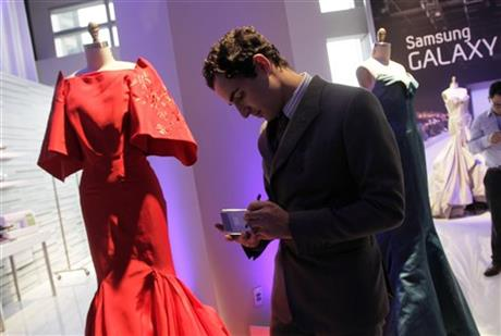 Samsung Galaxy Note, Zac posen