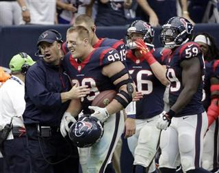 J.J. Watt, Bill O'Brien