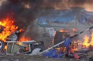 Mideast Iraq Protest Camp
