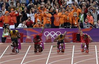 Britain Olympic Bottle Thrower