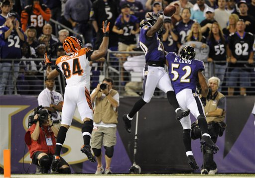 Ed Reed, Ray Lewis, Jermaine Gresham