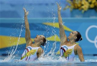 London Olympics Synchronized Swimming