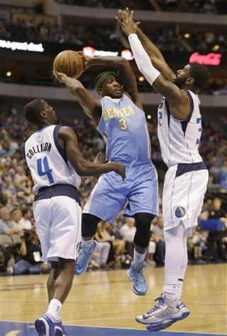 Rodrigue Beaubois, Darren Collison, O.J. Mayo