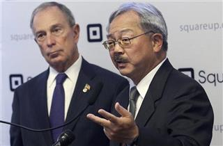 Ed Lee, Michael Bloomberg