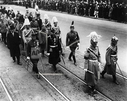 Watchf AP I   Germany APHSL35632 Germany Prince Leopold Funeral