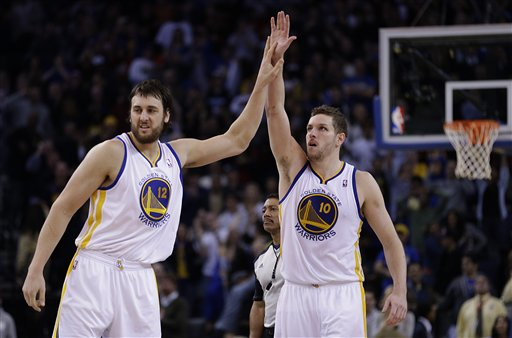 David Lee, Andrew Bogut
