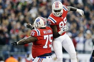 Vince Wilfork, Chandler Jones