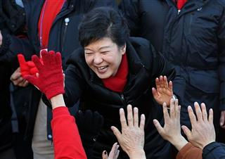 Park Geun-hye 