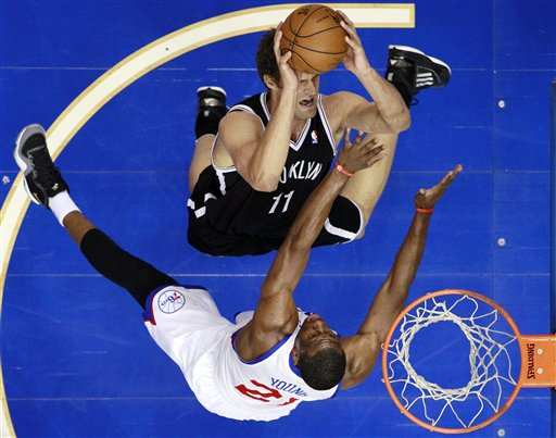 Thaddeus Young, Brook Lopez
