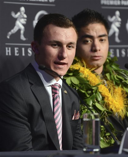Johnny Manziel, Manti Te&#039;o