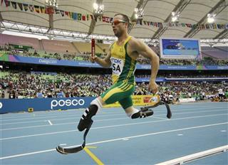 Olympics Pistorius Athletics