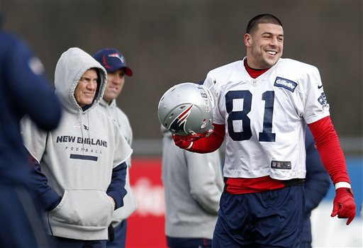 Aaron Hernandez, Bill Belichick