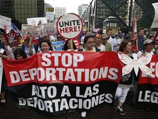 Immigration May Day