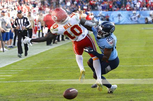 Chiefs Titans Football