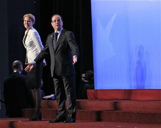 Francois Hollande, Helle Thorning-Schmidt,