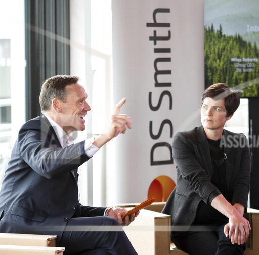 Ellen MacArthur Foundation partnership with DS Smith